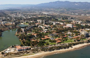 UC Santa Barbara arial view