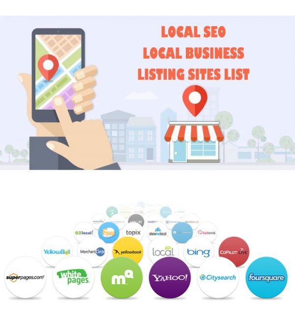 local seo, local business, listing sites list